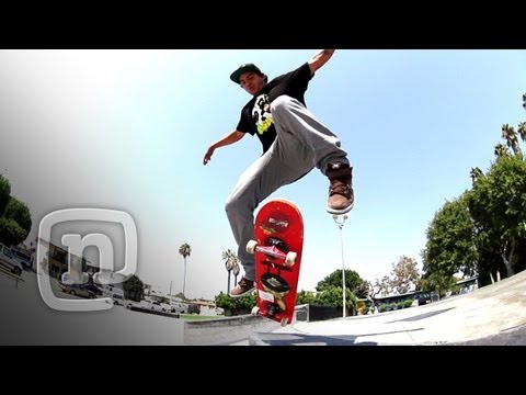 Skateboard Tricks: How To Do Fakie Bigflips with Richie Amador