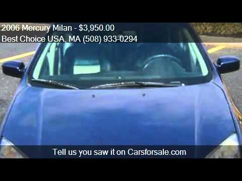 2006 Mercury Milan for sale in Swansea, MA 02777 at the Best