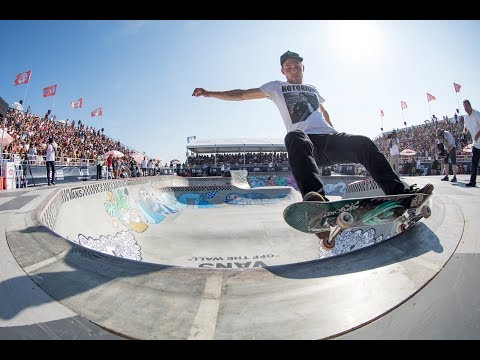 2nd Place Run, Ben Hatchell 86.98 | Huntington Beach, 2017 Pro Tour | Vans Park Series