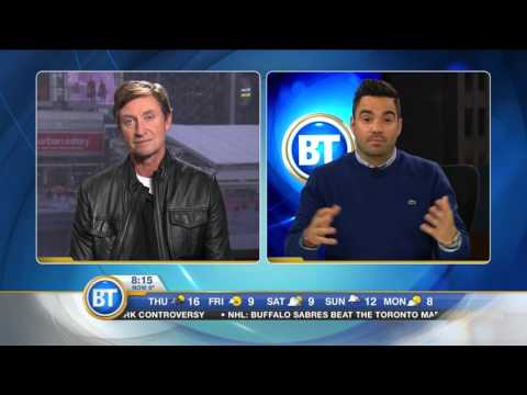 wayne gretzky - entire interview pt.1 (Montreal Canadians/Connor Mcdavid) - City Tv`s BT Montreal