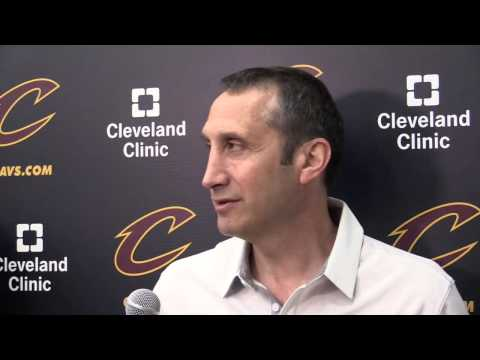 LeBron James and Kyrie Irving discuss Cleveland Cavaliers head coach David Blatt