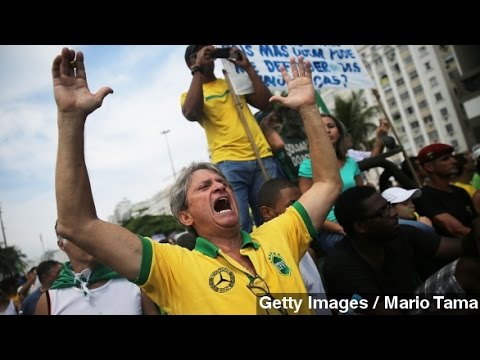 Protesters In Brazil Call For Impeachment Of President