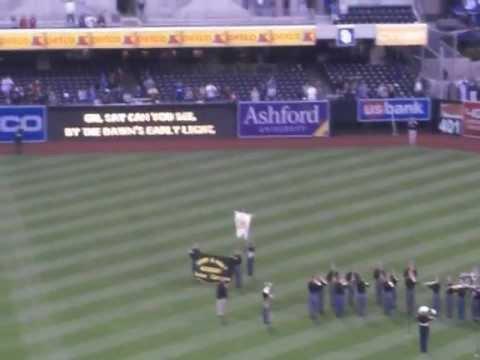 Army and Navy Academy Band National Anthem 120517.AVI