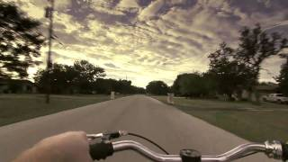 Jesse James Chopper bicycle ride through the neighborhood!