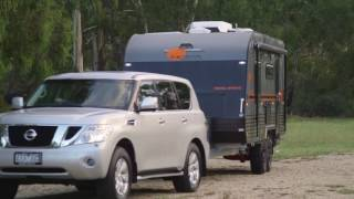 Angie shows off Nova Caravans new Terra Sportz