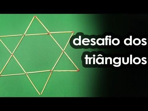 Desafio do Palito com Triângulo