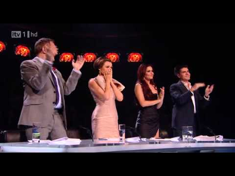 Matt Cardle   First time  ever saw your face(full with judges reactions) Music Videos