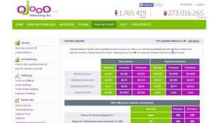 Earn money via Ojooo Ads $3+ per day