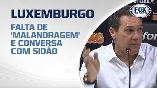 FALTA DE 'MALANDRAGEM' E CONVERSA COM SIDÃO! Luxemburgo fala após empate do Vasco