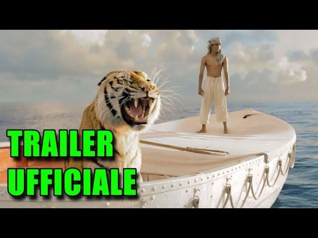 Vita di Pi (Life of Pi) Trailer Italiano HD