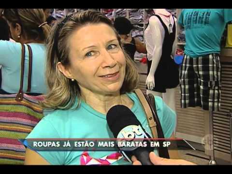 Comércio popular em São Paulo já entrou em liquidação