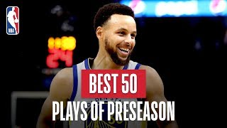 NBA's Best 50 Plays | 2019-20 Preseason