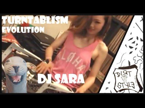 DJ Sara ★ Turntablism Evolution [2003-2015]