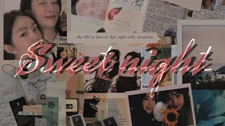 SWEET NIGHT - V from BTS [SEULRENE][FMV]