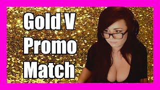 Kaceytron's Gold V Promo Match - Witness History!