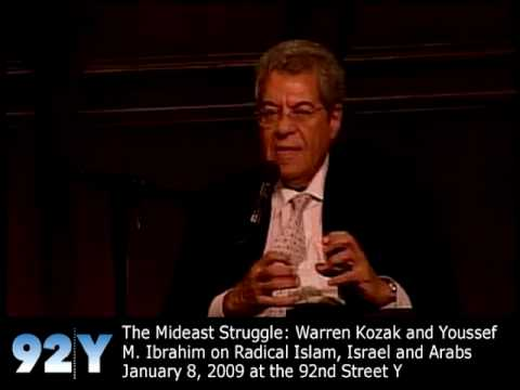 0 Warren Kozak and Youssef M. Ibrahim on Radical Islam, Israel and Arabs at the 92nd Street Y