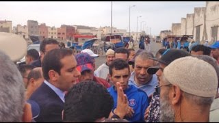وقفة احتجاجية للسكان ضد مكب للنفايات وسط الأحياء السكنية بمدينة الصويرة 4.35 MB