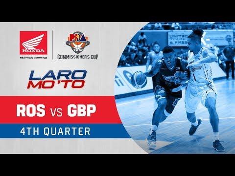 Rain or Shine vs. GlobalPort - Q4 | PBA Commissioner's Cup 2018