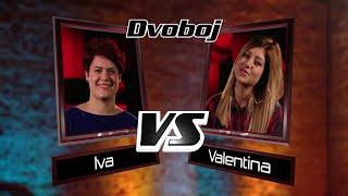 "Valentina vs. Iva: ""Stay With Me Baby"" - The Voice of Croatia - Season1 - Battle3"