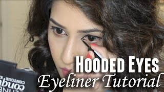Eyeliner Tutorial for Hooded Eyes