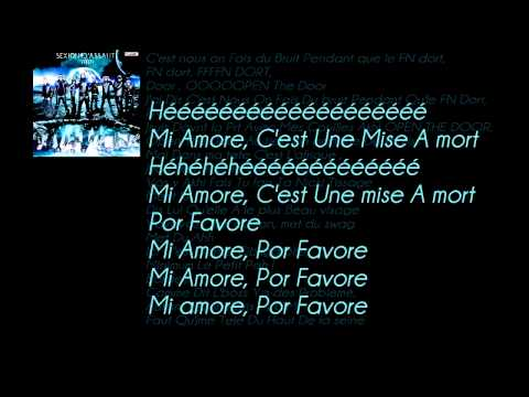 sexion d'assaut mi amor lyrics Y.S