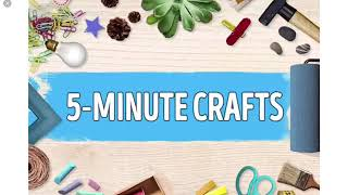 5 minute crafts hose rain cell day today