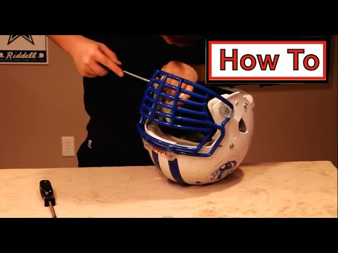 How to   Attach a Riddell Speed Big Grill