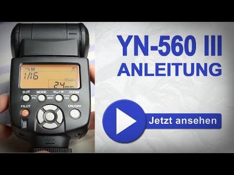 Yongnuo 560 iii bedienungsanleitung deutsch