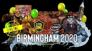 NAVI vs UNIQUE | ESL One Birmingham 2020 | DOTA 2 LIVE | ENGLISH CASTER | BATTLEPASS GIVEAWAY!