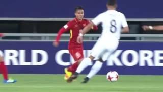 VIETNAM vs FRANCE ( 2-0 ) ||  U20 WORLD CUP 2017 Highlights