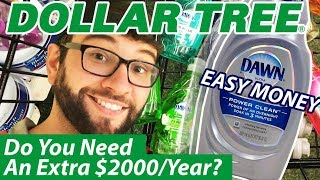 $150+ Hour Selling Dollar Tree Dish Soap! Control Your Income by Selling Simple Products Online!