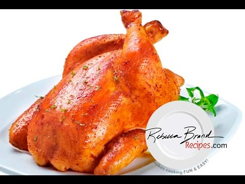Basic Whole Roasted Chicken Recipe — Dishmaps