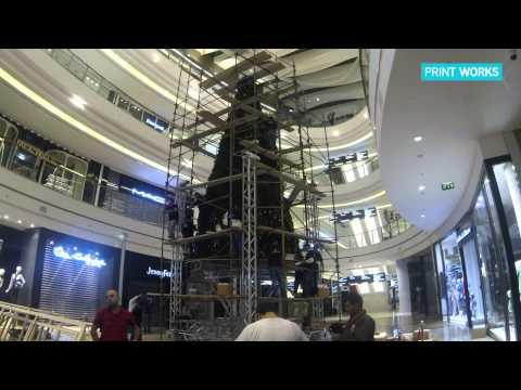 Beirut City Centre Christmas Tree