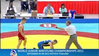 WORLD JUNIOR WRESTLING CHAMPIONSHIPS 2012_CRO VS GEO