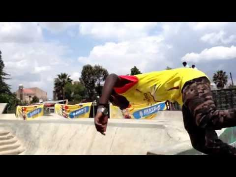 Skateboarding And Rollerskating  Practice In Addis Ababa Ethiopia