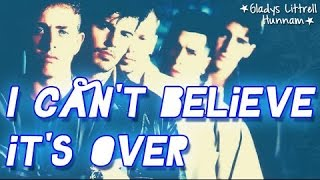 Watch New Kids On The Block I Cant Believe Its Over video