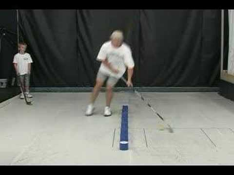 Hockey Stick Handling Training