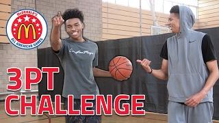 3 POINT CHALLENGE vs. #1 RANKED HS ALL-AMERICAN PG! ft. Jaylen Hands & JesserTheLazer