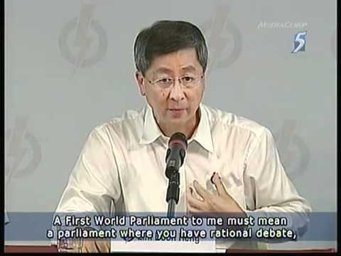 Lim Boon Heng cried on his last appearance as a PAP MP- 11Apr2011