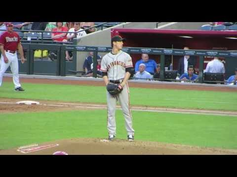 Tim Lincecum Pitching
