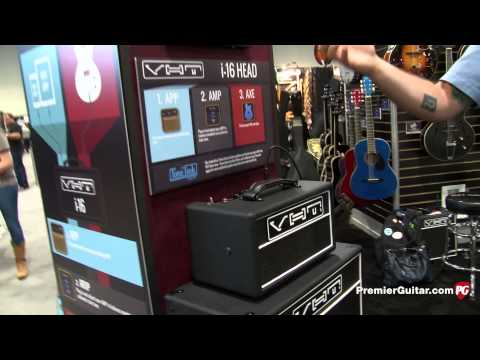 Summer NAMM '14 - VHT Amps i-16 Head Demo