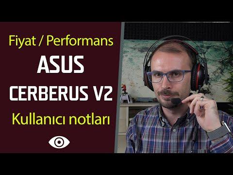 ASUS'dan F/P odaklı oyuncu kulaklığı | ASUS Cerberus v2 inceleme