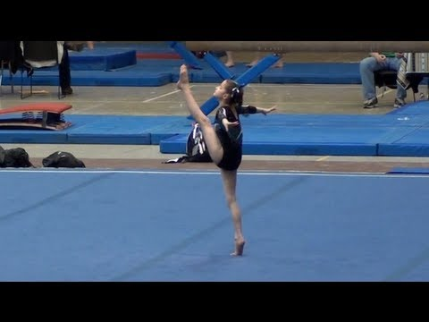 Annie the Gymnast-Level 5 Gymnastics Meet 8