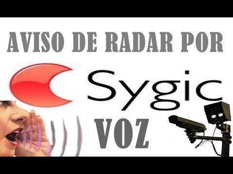 Sygic AVISO DE RADAR POR VOZ.