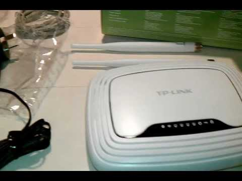 Tp-link TL-WR842ND router unpack and setup