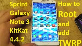 How to Root Galaxy Note 3**KitKat**4.4.2(Sprint)