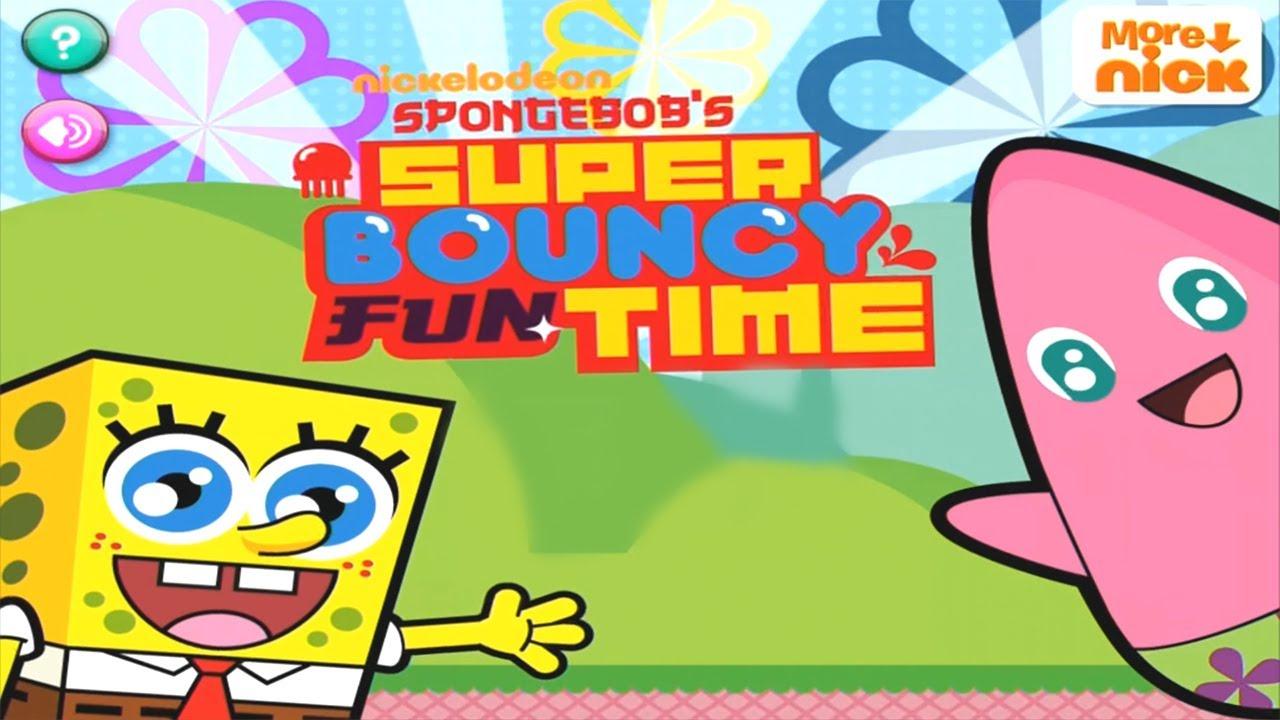 spongebobs super bouncy fun time hd ipad 2 hd