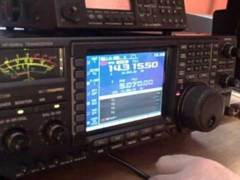 Contesting on the IC-756 Pro