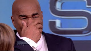 Steve Harvey Breaks Down After Seeing His Mama