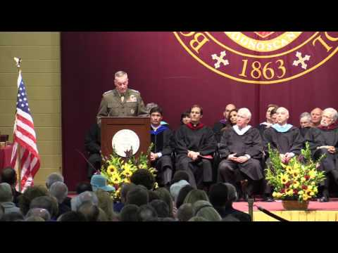 General Joseph F. Dunford, Jr. '73 2016 Commencement Address at Boston College High School